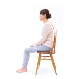 背筋が伸びるシートクッション