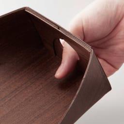 職人がつくったほうき&ちりとりセット 持ち手代わりの指穴付き。