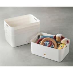 ナチュラインボックスソフトタイプ (ア)M型5個組 キッチン以外でも用途いろいろ。
