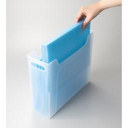 ナチュラ ソートボックス ファイルケースとしても使えます