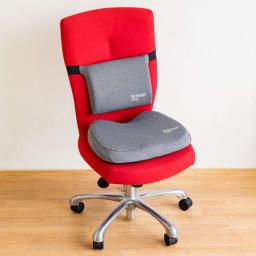 テクノジェル(R)シートクッション シートクッション+ランバーサポート ※お届けはシートクッションのみです。