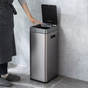 特典付き EKO ミラージュ 充電式センサービン スリム 容量30L ゴミ箱 写真
