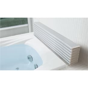 159×85cm(銀イオン配合 軽量・抗菌 折りたたみ式風呂フタサイズオーダー) 写真