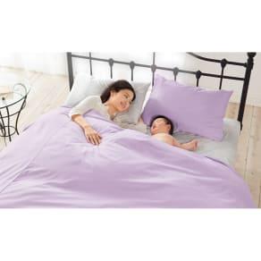 2段ベッド用 (綿100%のダニゼロック 掛けカバー) 写真
