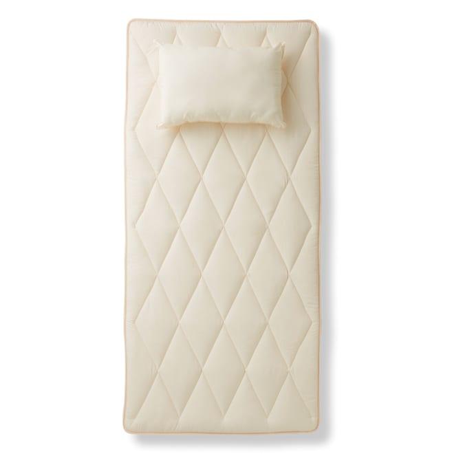 あったか洗える清潔寝具 ふんわり敷布団 ※お届けはふんわり敷布団です。枕は商品に含まれません。