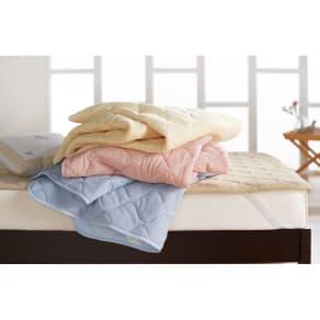 2段ベッド用 (アクアジョブ(R)パッドシーツ 裏面メッシュ) 写真