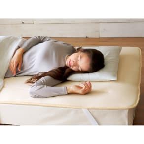 セミシングル この薄さで驚きの寝心地!魔法の敷きマット 写真
