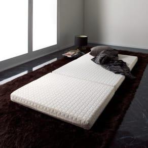Afitマットレスシリーズ 3つ折り敷布団 セミダブル 写真