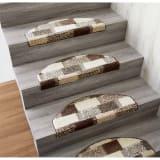 同色3枚組(イタリア製階段マット) 写真