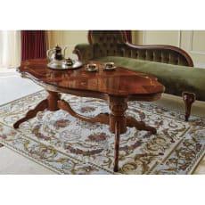イタリアンリビングシリーズ 象がんリビングテーブル