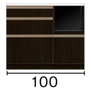 キッチンカウンター 幅100奥行45高さ85cm(高機能 モダンシックキッチンシリーズ) 写真