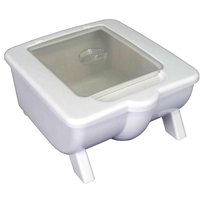 高機能 モダンシックキッチンシリーズ キッチンカウンター用米びつ10kg お米を約10.3キロ収納できます。