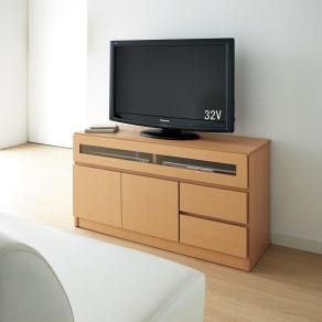 【完成品・国産家具】ベッドルームで大画面シアターシリーズ テレビ台 幅105高さ55cm 写真