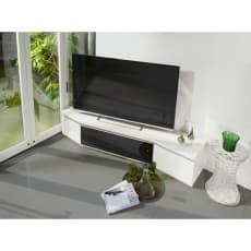 住宅事情を考えたコーナーテレビボード 幅165cm・左コーナー用(左側壁用)