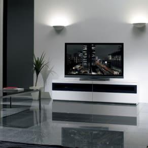 パモウナBW-180 輝く光沢のモダンリビングシリーズ テレビ台 幅180cm 写真