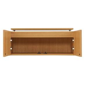 書斎壁面収納シリーズ オーダー対応突っ張り式上置き(1cm単位) 幅78cm・高さ26~90cm 写真