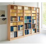 色とサイズが選べるオープン本棚 幅86...