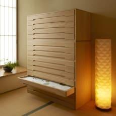 自分仕様に造れる 総桐ユニット箪笥 着物収納箪笥7段