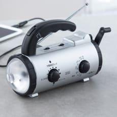 アイフォン充電対応防災ラジオライト 写真