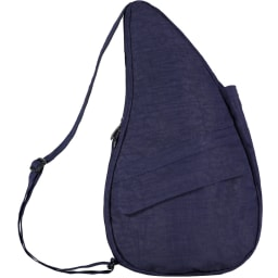 ヘルシーバックバッグ テクスチャドナイロンMサイズ (キ)ブルーナイトWEB限定色