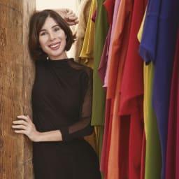 シビラトイレタリー〈フローレス〉 ハンドタオル・ペーパーホルダーカバーセット スペインを代表するデザイナー シビラ・ソロンド