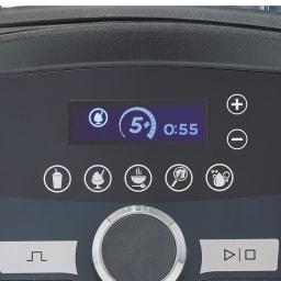 【10年保証付き】Vitamix/バイタミックス アセントA3500i 全自動タイプ 【5つの全自動と手動モード】1スムージー、2アイス、3ホットスープ、4ディップ&ペースト、5洗浄。各アイコンを押すだけで自動モードがスタート。残り時間も表示されます。手動タイマーも搭載。お好みのパワーと撹拌時間の設定が可能になりました!