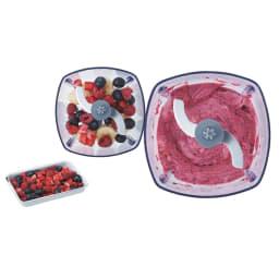 recolte  レコルト カプセルカッターボンヌ かき氷もできます! 【混ぜる】冷凍フルーツ:約200g(ジェラート)