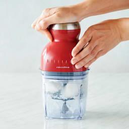 recolte  レコルト カプセルカッターボンヌ かき氷もできます! 付属のおろしプレートで大根おろしがたったの20秒!「ふわシャキ」食感の美味しい仕上がりです!