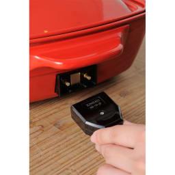 BRUNO/ブルーノ ホットプレート グランデサイズ マグネットタイプの電源コードで安心