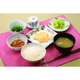 iwatani イワタニ クラシックミルサー おろしカッター&ミクロン容器付き ディノス特別セット ダシ粉末を使わず、醤油を使った朝ごはんの塩分量合計は5,1g・・・内訳は味噌汁1.8g だし巻き卵0.9g、納豆0.9g、お浸し0.7g、即席漬け0.8g
