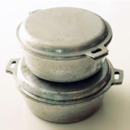 IHでも使える無水鍋 50年以上使っている先生の無水鍋