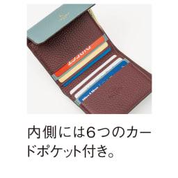 ペレボルサ コンパクト2つ折り財布