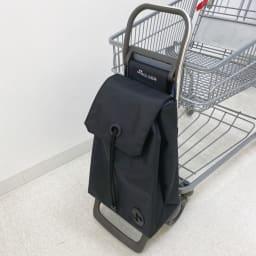 ロルサー ショッピングカート a.店内カートに引っ掛けられるフック付き。