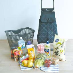 ロルサー ショッピングカート お米や水などたっぷり収納できます。