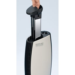 イオニックブリーズシリーズ GRANDE ステンレス製の集塵板を取り出しサッと拭くだけでOK!フィルターの買い替えもなく経済的。