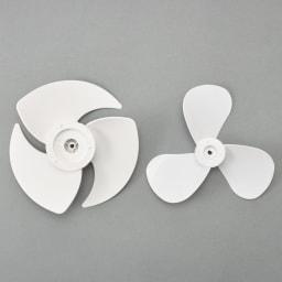 自動首振り機能付き マルチファン 2連 ファンの形状も昨年モデルから見直し、よりパワフルな風を送り出すことはできるようになりました。