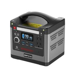 多機能ポータブル電源 コンパクトなボディに必要な機能を搭載。一家に一台備えておきたいポータブル電源です。