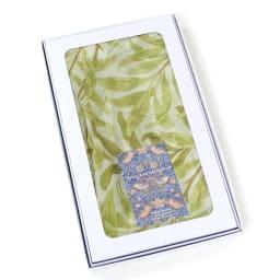ウィリアム・モリス シルクショール (イ)柳の枝 専用の箱にいれてお届けします。
