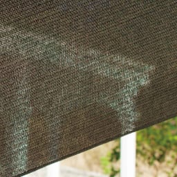 サマーオーニング つっぱり式 幅310cm 風を通すメッシュ素材で、日射しと紫外線もカット。