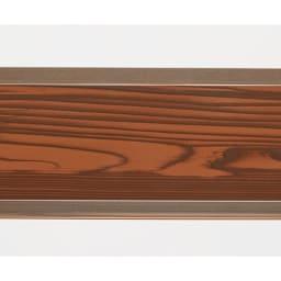 簡単リフォーム 木目調アルミボーダーフェンス ハイタイプ 幅90高さ149cm(お得な2枚組) 本物の木板のようなプリントで、温かみのある仕様です。