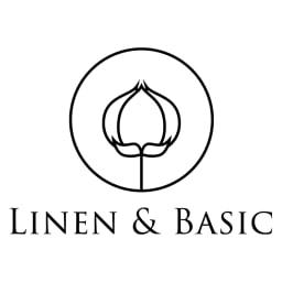 【LINEN & BASIC】リネン&ベーシック  リネン ワッフル織 クッションカバー(1枚) 素材の良さを知り尽くした丁寧で良質なモノづくりを手がける注目のリネンブランド「リネン&ベーシック」