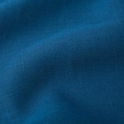 【LINEN & BASIC/リネン&ベーシック】 リネンのれん(1枚)約幅45cm 無地タイプ (イ)ネイビー 生地アップ