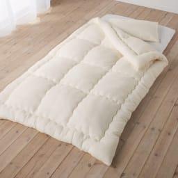 テンセルTM &ガーゼ寝具シリーズ 掛け布団 コーディネート例(ア)生成り ※お届けは掛け布団です。