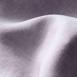 中わたまでオール麻 洗える本麻シリーズ 敷きパッド (イ)パープル