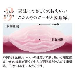 パシーマ(R) EX(先染めタイプ)シリーズ 夏の限定色デニムブルー ピローケース 普通判(1枚) 夏にパシーマ(R)がいい3つの理由