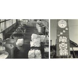 ダブル(パシーマ(R)生地のケットにもなる掛けカバー) (中央右・右)龍宮(株)旧脱脂綿工場