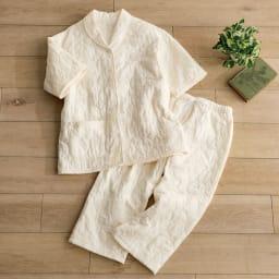 パシーマ(R)生地の半そでパジャマ レディース