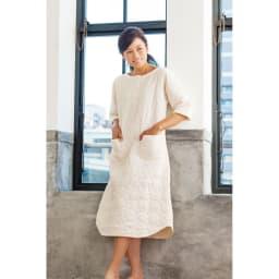 パシーマ(R)使いのパジャマ 北澤さんも「北欧デザインみたいでおしゃれ」とお気に入り。