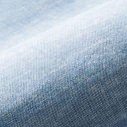ファミリー布団用 洗えるふんわりリネン敷きパッド(ファミリーサイズ・家族用) グレイッシュでトレンド感のあるブルーは、涼しげな夏色カラーでリネンの風合いにもぴったり。