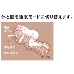 【デオアイスと同じ生地使用】快適な寝姿勢をサポート新・魔法の抱き枕(R)(ひんやりカバータイプ) 抱き枕ひんやりセット
